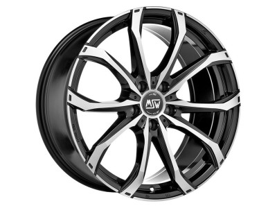 MSW Off-Road MSW 48 Gloss Black Full Polished Wheel