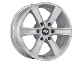 MSW Off-Road Sahara 6 Full Silver Wheel