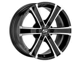 MSW Off-Road Sahara 6 Gloss Black Full Polished Wheel