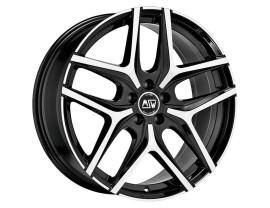 MSW Urban Cross MSW 40 Gloss Black Full Polished Wheel