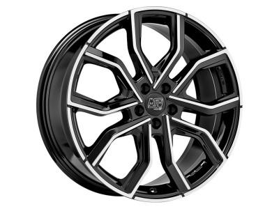 MSW Urban Cross MSW 41 Gloss Black Full Polished Wheel