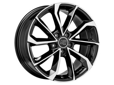 MSW Urban Cross MSW 42 Gloss Black Full Polished Wheel