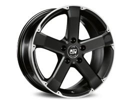 MSW Urban Cross MSW 45 Matt Black Full Polished Wheel