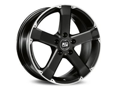 MSW Urban Cross MSW 45 Matt Black Full Polished Wheel