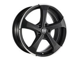 MSW Urban Cross MSW 47 Matt Dark Titanium Full Polished Wheel