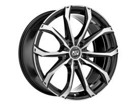 MSW Urban Cross MSW 48 Gloss Black Full Polished Wheel