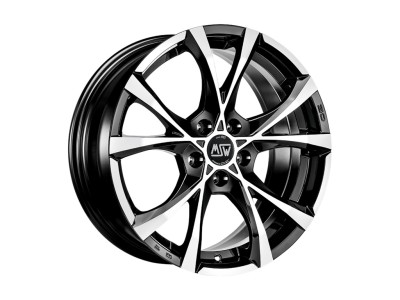 MSW Urban Cross MSW Cross Over Black Full Polished Wheel