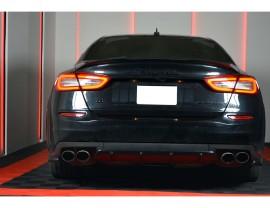 Maserati Quattroporte M156 MX Rear Bumper Extension