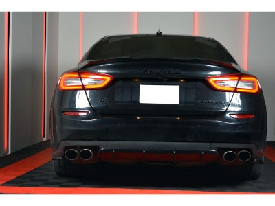 Maserati Quattroporte M156 MX Rear Bumper Extension