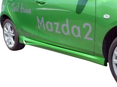 Mazda 2 Sport Side Skirts