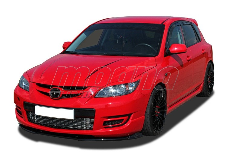 mazda 3 bk mps verus x front bumper extension. Black Bedroom Furniture Sets. Home Design Ideas