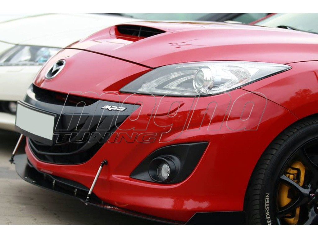 mazda 3 bl mps master front bumper extension. Black Bedroom Furniture Sets. Home Design Ideas