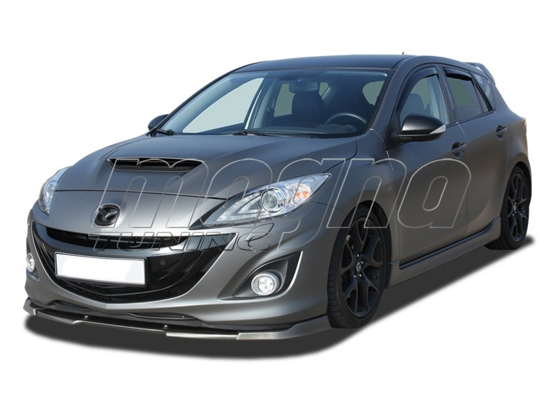 mazda 3 bl mps verus x front bumper extension. Black Bedroom Furniture Sets. Home Design Ideas