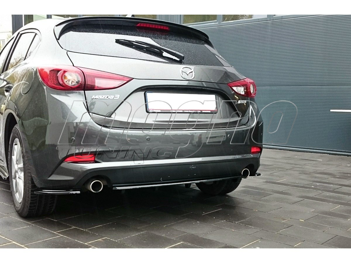 Mazda 3 BM MX2 Rear Bumper Extension