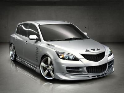 Mazda 3 Bara Fata Aggressive