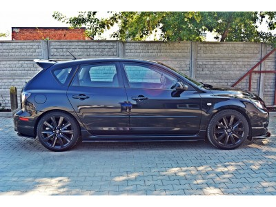 Mazda 3 MPS MX Side Skirt Extensions