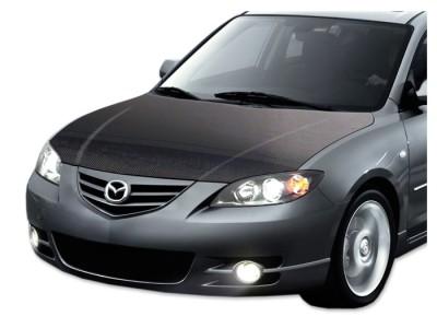 Mazda 3 OEM Carbon Motorhaube