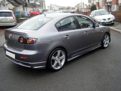 Mazda 3 SX Seitenschwellern