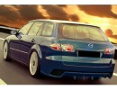 Mazda 6 MK1 Kombi A2 Rear Bumper