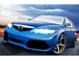 Mazda 6 MK1 Lambo-Style Front Bumper