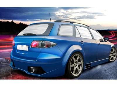 Mazda 6 MK1 Lambo-Style Rear Bumper
