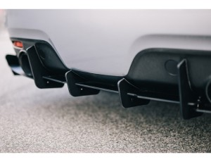Mazda 6 MK1 MPS RaceLine Rear Bumper Extension