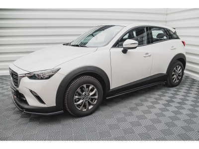 Mazda CX-3 MX Seitenschwelleransatze