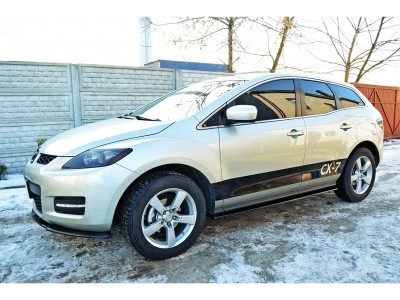 Mazda CX-7 MX Side Skirt Extensions