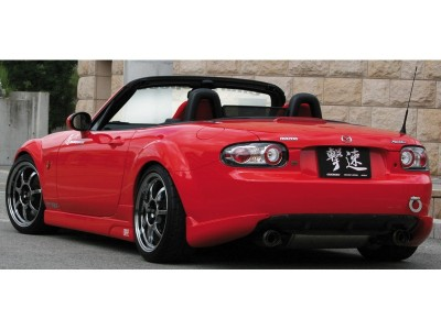 Mazda MX5 NC Japan-Style Rear Bumper Extensions