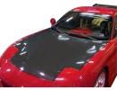 Mazda RX7 Capota OEM Fibra De Carbon