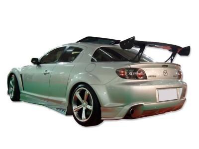 Mazda RX8 Evolva Heckstossstange