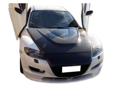 Mazda RX8 GTX Carbon Fiber Hood