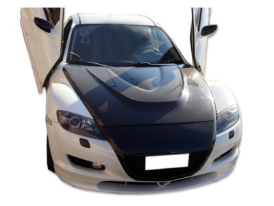 Mazda RX8 GTX Carbon Motorhaube