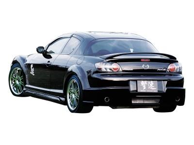 Mazda RX8 Tokyo Rear Bumper