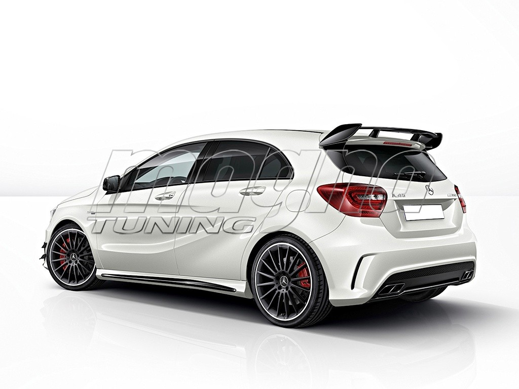 Mercedes A Class W176 Amg Look Rear Wing