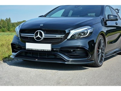 Mercedes A-Class W176 AMG MX Front Bumper Extension