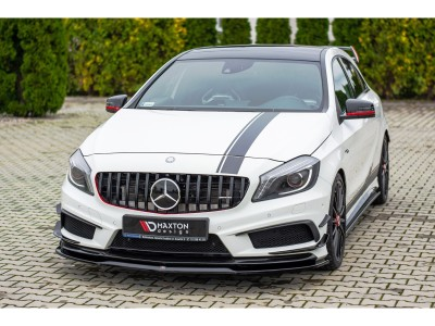 Mercedes A-Class W176 AMG Meteor Front Bumper Extension