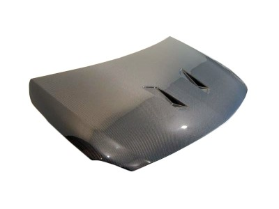 Mercedes A-Class W176 Black-Look Carbon Fiber Hood