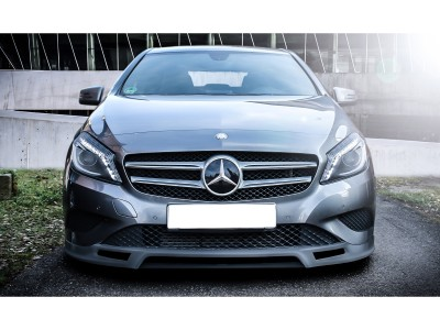 Mercedes A-Class W176 Enos Front Bumper Extension