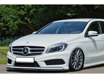 Mercedes A-Class W176 Intenso Front Bumper Extension
