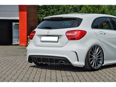 Mercedes A-Class W176 Intenso Rear Bumper Extension