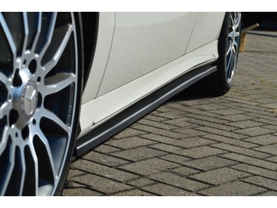 Mercedes A-Class W176 Intenso Side Skirt Extensions