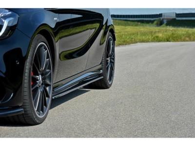 Mercedes A-Class W176 MX Side Skirt Extensions