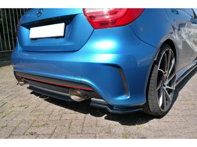 Mercedes A-Class W176 Matrix Rear Bumper Extension