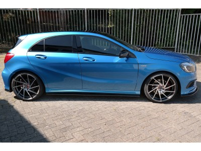 Mercedes A-Class W176 Matrix Side Skirts