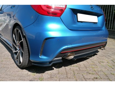 Mercedes A-Class W176 Matrix2 Rear Bumper Extension