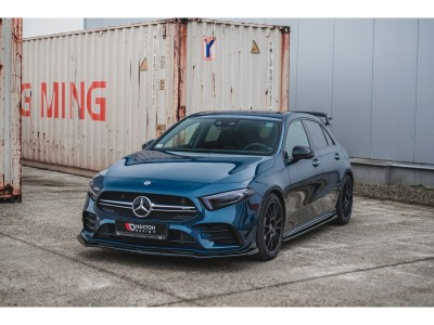 Mercedes A-Class W177 AMG MX Side Skirt Extensions