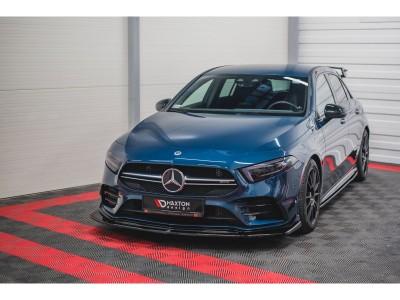 Mercedes A-Class W177 AMG MX3 Front Bumper Extension