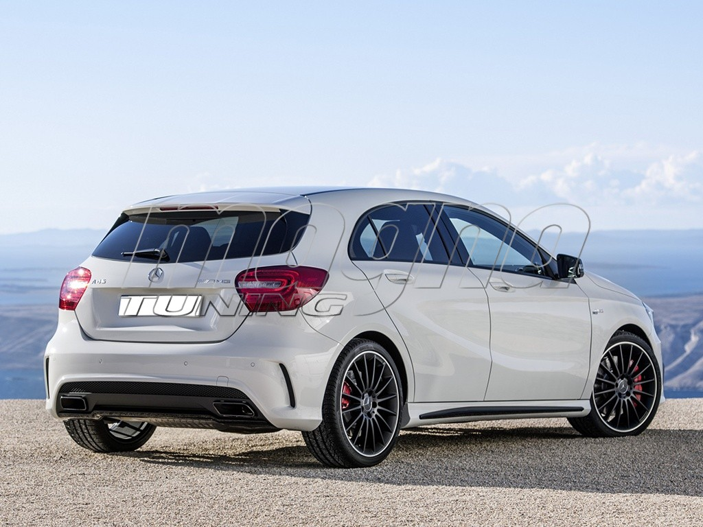 mercedes a klasse w176 amg look body kit. Black Bedroom Furniture Sets. Home Design Ideas