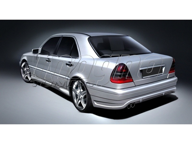 Mercedes c class w202 a2 body kit for Mercedes benz c300 body kit